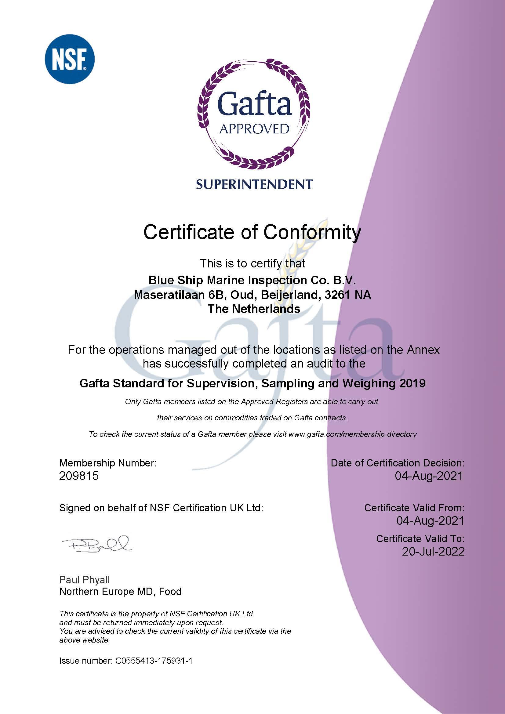 209815 Blue Ship Marine Inspection Co. B.V Gafta Certificate 2021_v1_Decrypted_Page_1
